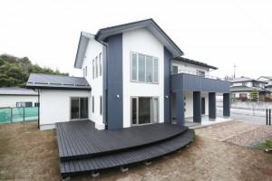 田村市の施工実例、アーバンスタイルの家外観