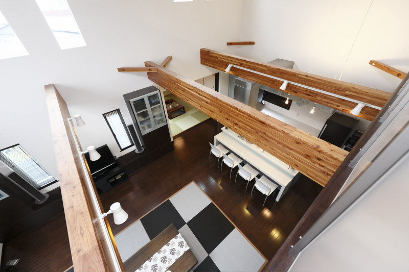 田村市の施工実例、アーバンスタイルの家2