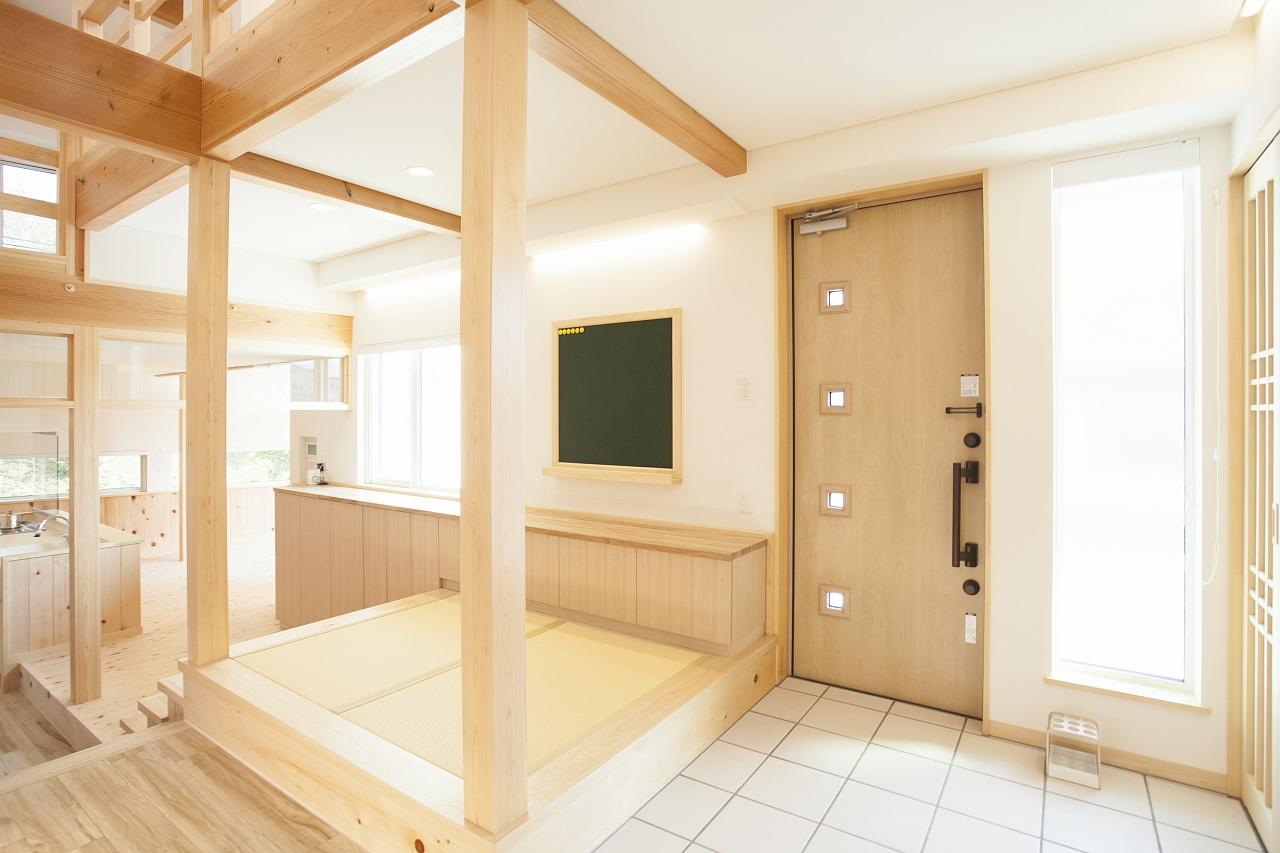 田村産業Newモデルハウス(BDAC=Style・スーパーウォール工法)通り土間