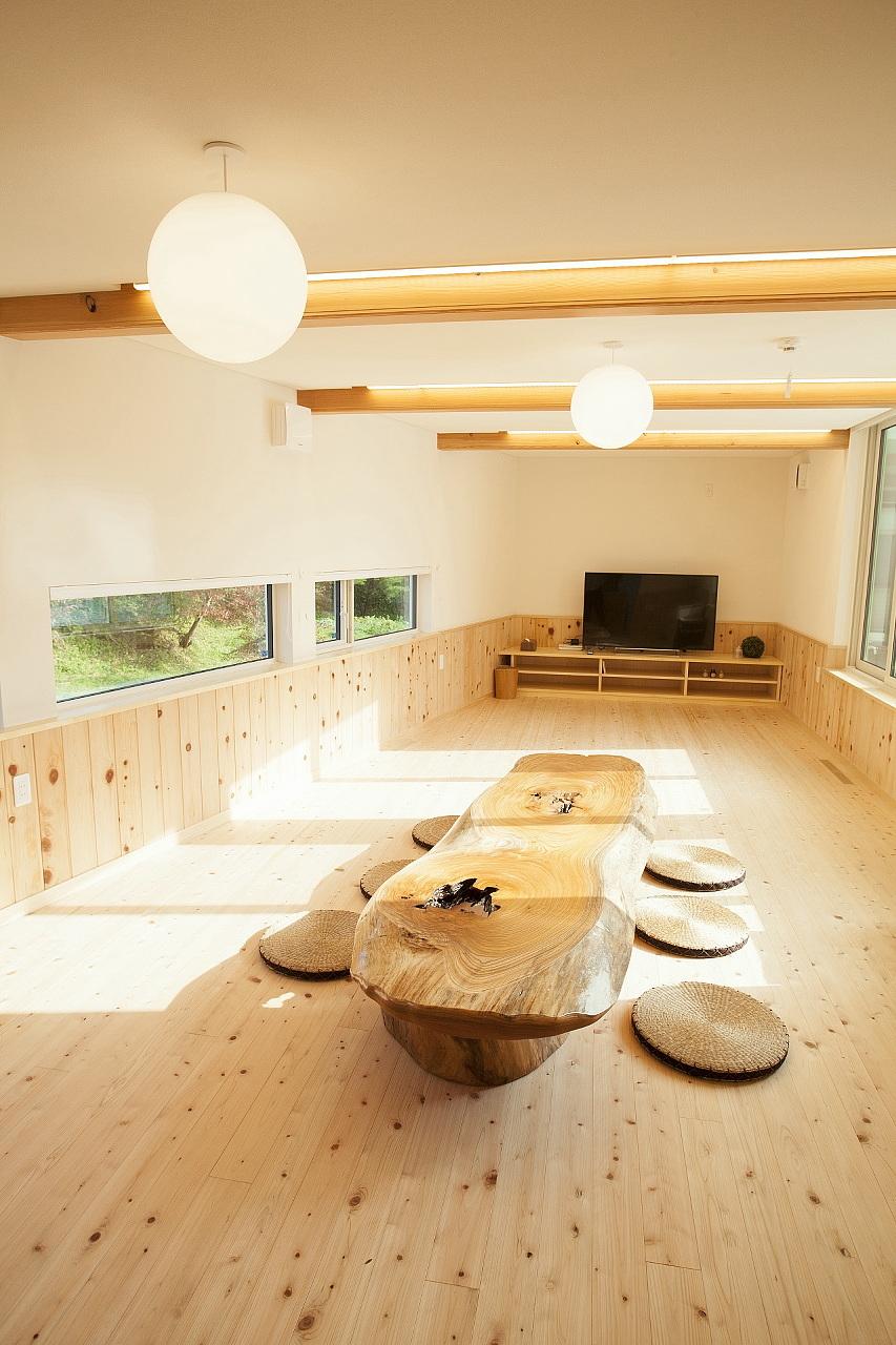 田村産業Newモデルハウス(BDAC=Style・スーパーウォール工法)リビング3