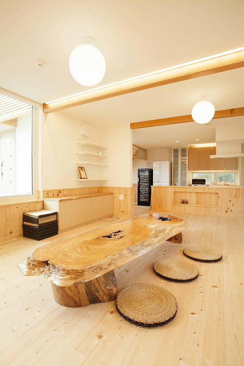 田村産業Newモデルハウス(BDAC=Style・スーパーウォール工法)リビング2