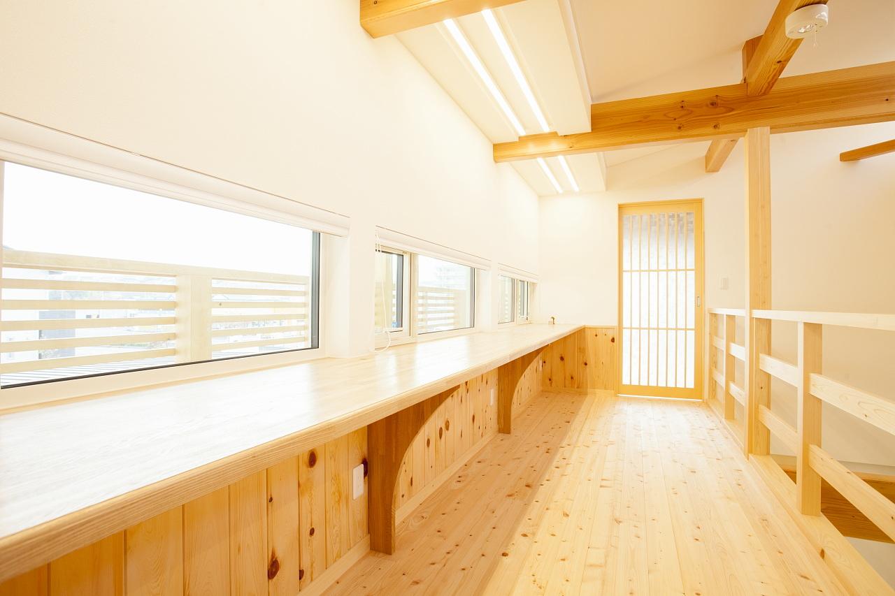 田村産業Newモデルハウス(BDAC=Style・スーパーウォール工法)ワンフロア