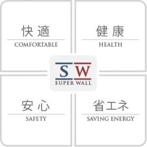 スーパーウォール快適・安心・健康・省エネ(田村産業株式会社)