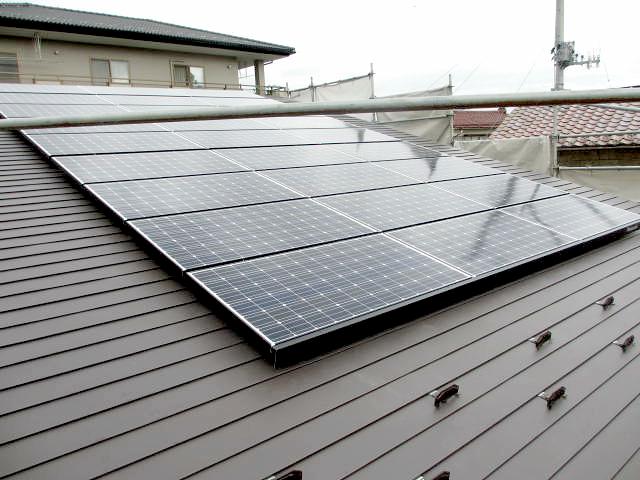 太陽光発電1(田村市の新築住宅・注文住宅・リフォーム、田村産業株式会社)