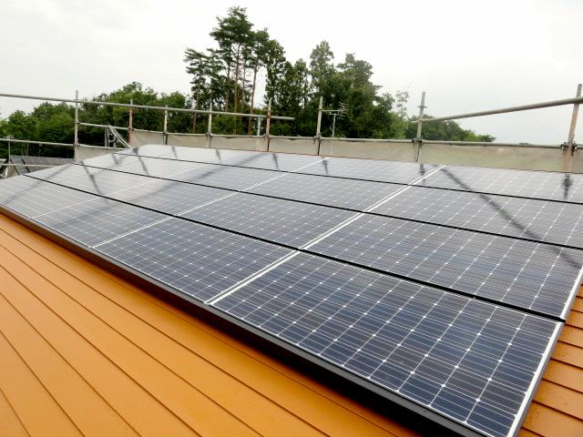 太陽光発電2(田村市の新築住宅・注文住宅・リフォーム、田村産業株式会社)