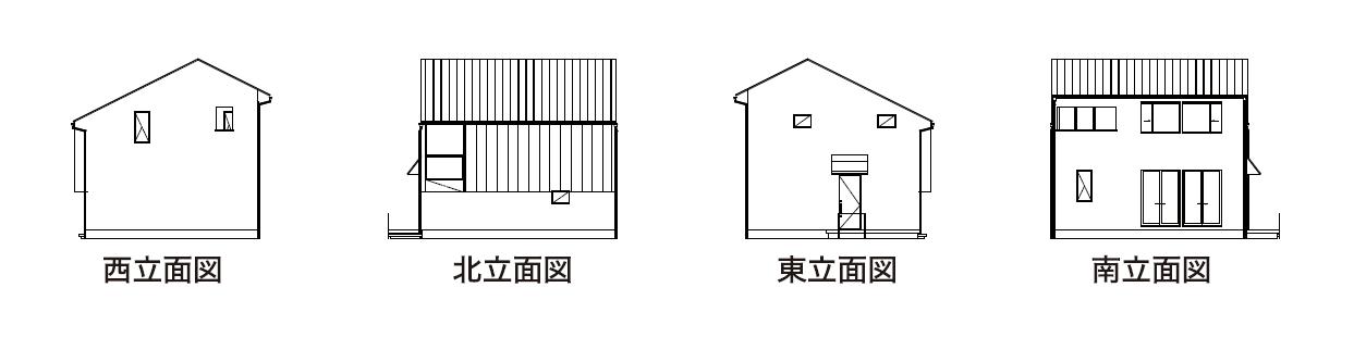 TRETTIO GRAD切妻(田村市の新築注文住宅・リフォーム・リノベーション、田村産業株式会社)
