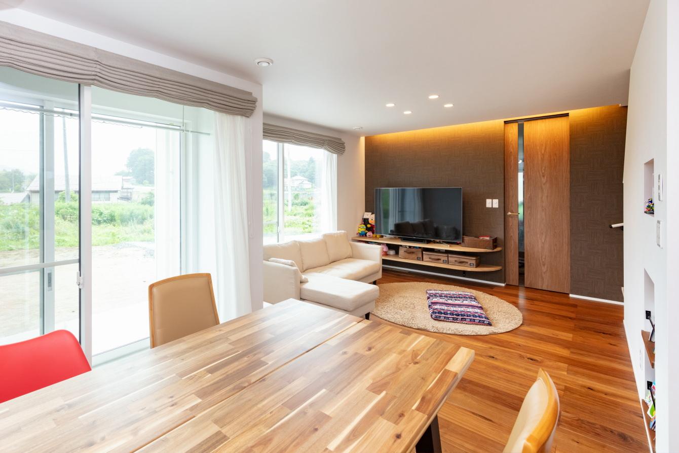 田村市の施工例、デザインも住み心地も妥協しない建築課とコラボした理想の家・田村産業2b