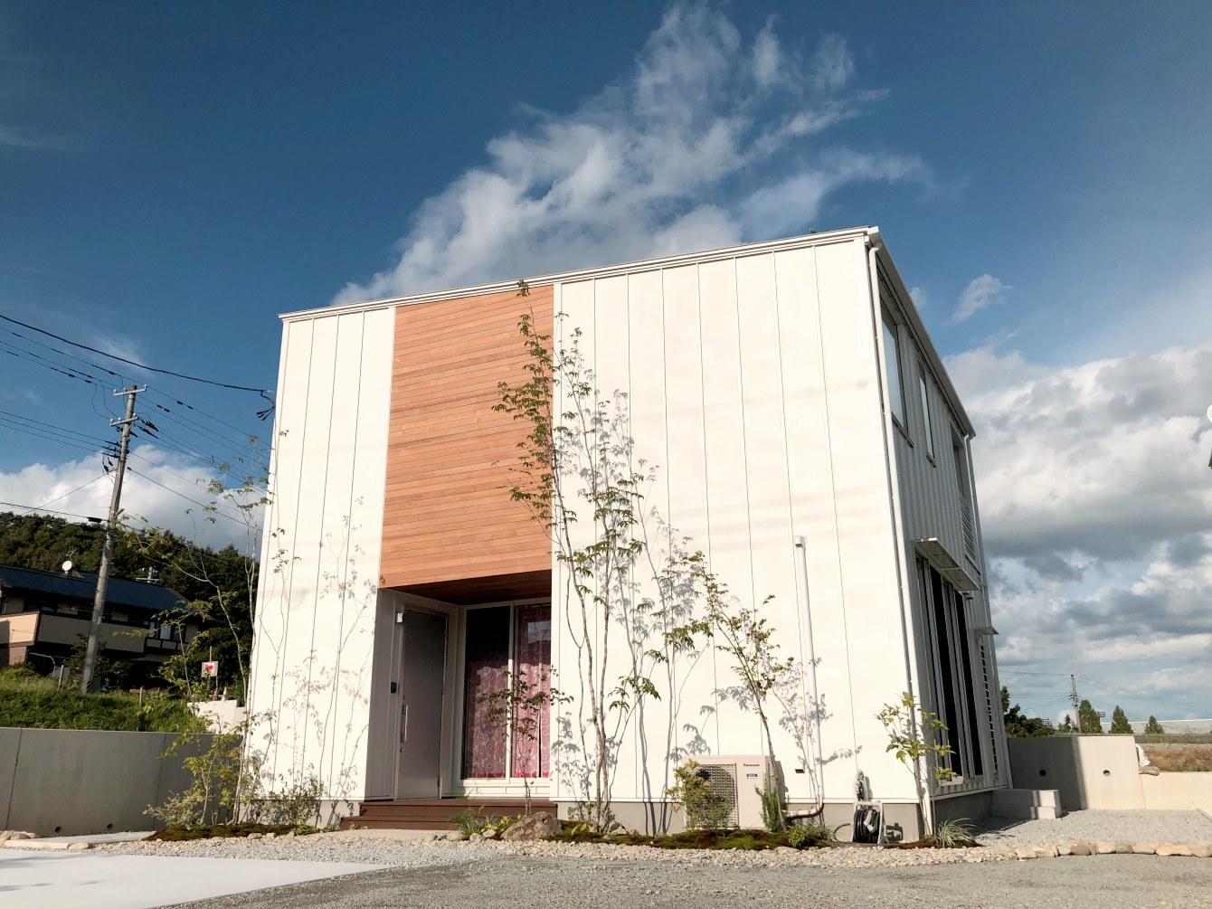 田村市の施工例、貝山・TRETTIO外観1