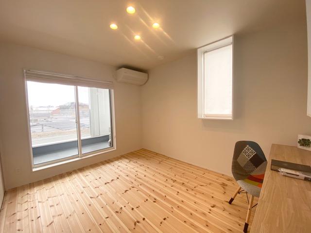 田村市の施工例、貝山・TRETTIO2階主寝室