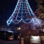 日光金谷ホテルにあるクリスマスツリー