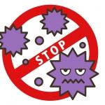ウイルス感染防止イラスト