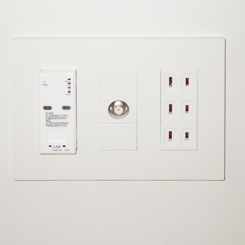 埋め込みタイプのWi-Fiアクセスポイントユニット