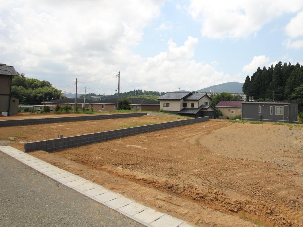 福島県田村市船引町船引字源次郎の分譲地