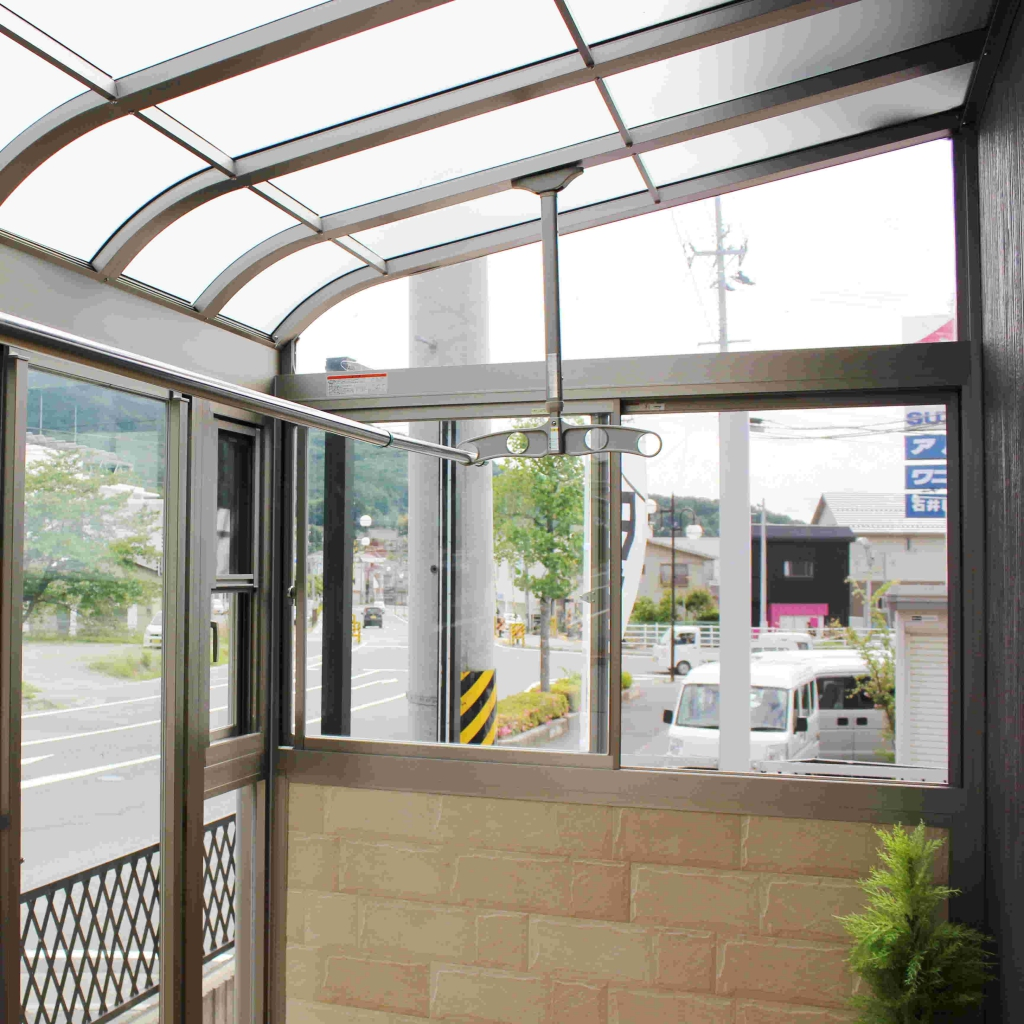 田村産業株式会社エクステリア展示場のサンルーム
