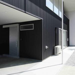 三春町貝山建売住宅のインナーガレージ